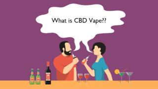 最も人気のあるCBDの利用方法、CBDベイプ(Vape)とは?